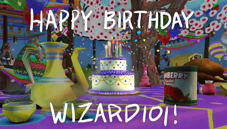 Photo of Wizard101's 12th birthday Contests