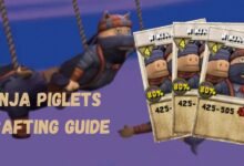 Photo of Ninja Piglets Crafting Guide