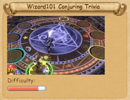 Wizard101 Conjuring Trivia answers