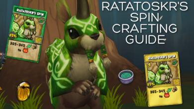 Photo of Ratatoskr's Spin Crafting Guide