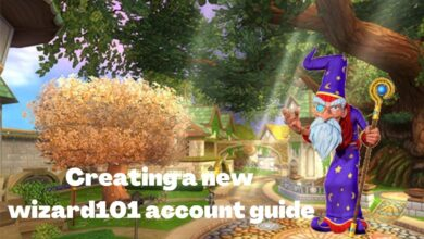 Photo of Creating a New Wiz101 Account guide