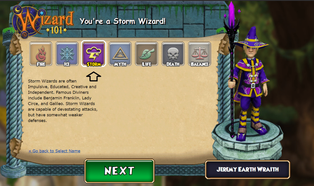 wizard101 new account
