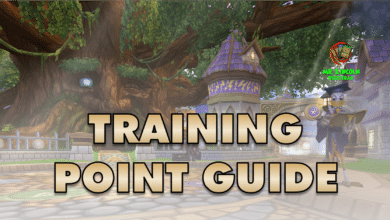 Photo of Training Points Guide